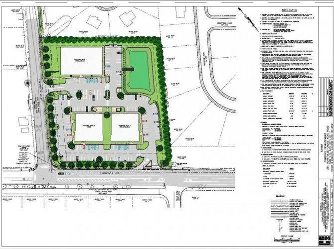 Medical/Office Buildings Coming To Fish Pond Rd And Hurffville-Crosskeys In Sewell