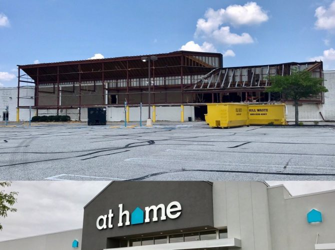 Upcoming At Home Store In Washington Township Under Major Remodel