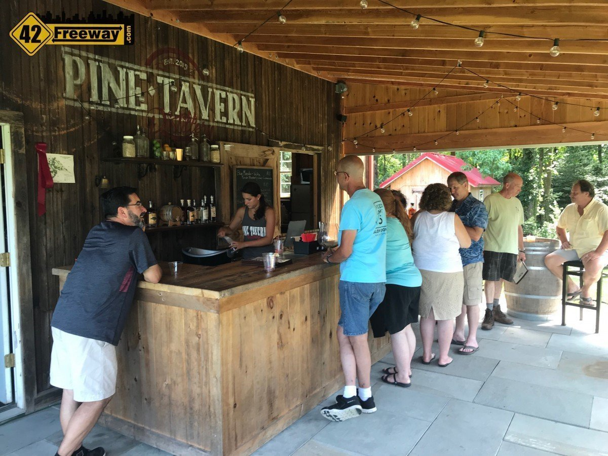 Pine Tavern Distillery and Hidden Pond Farm in Monroeville.  A Unique and Rustic Experience