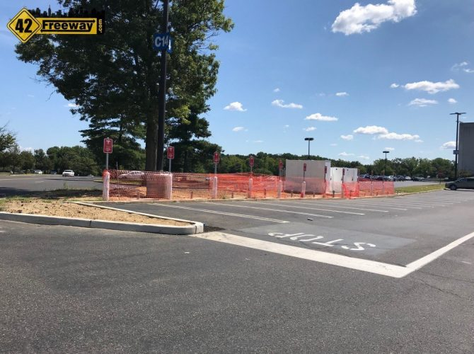 Deptford Mall Tesla Superchargers Almost Ready To Run