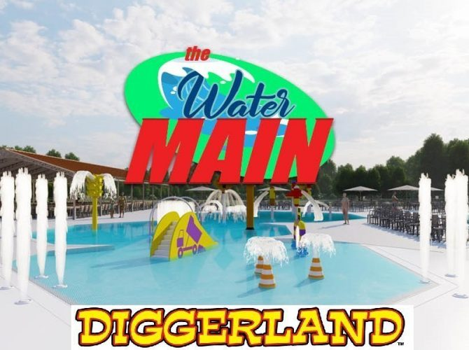 """Diggerland USA Adding """"The Water Main"""" Aquatic Park For Spring 2020.  (West Berlin, NJ)"""