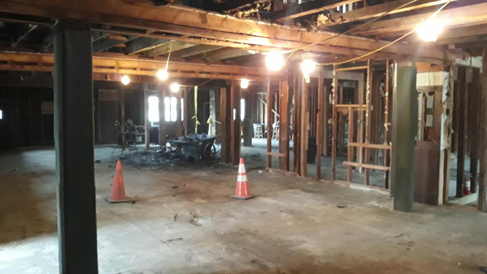 New Owner Bobby Ray Starts MASSIVE Remodel at Guiseppi's Mt Ephraim.  You Won't Believe The Photos!