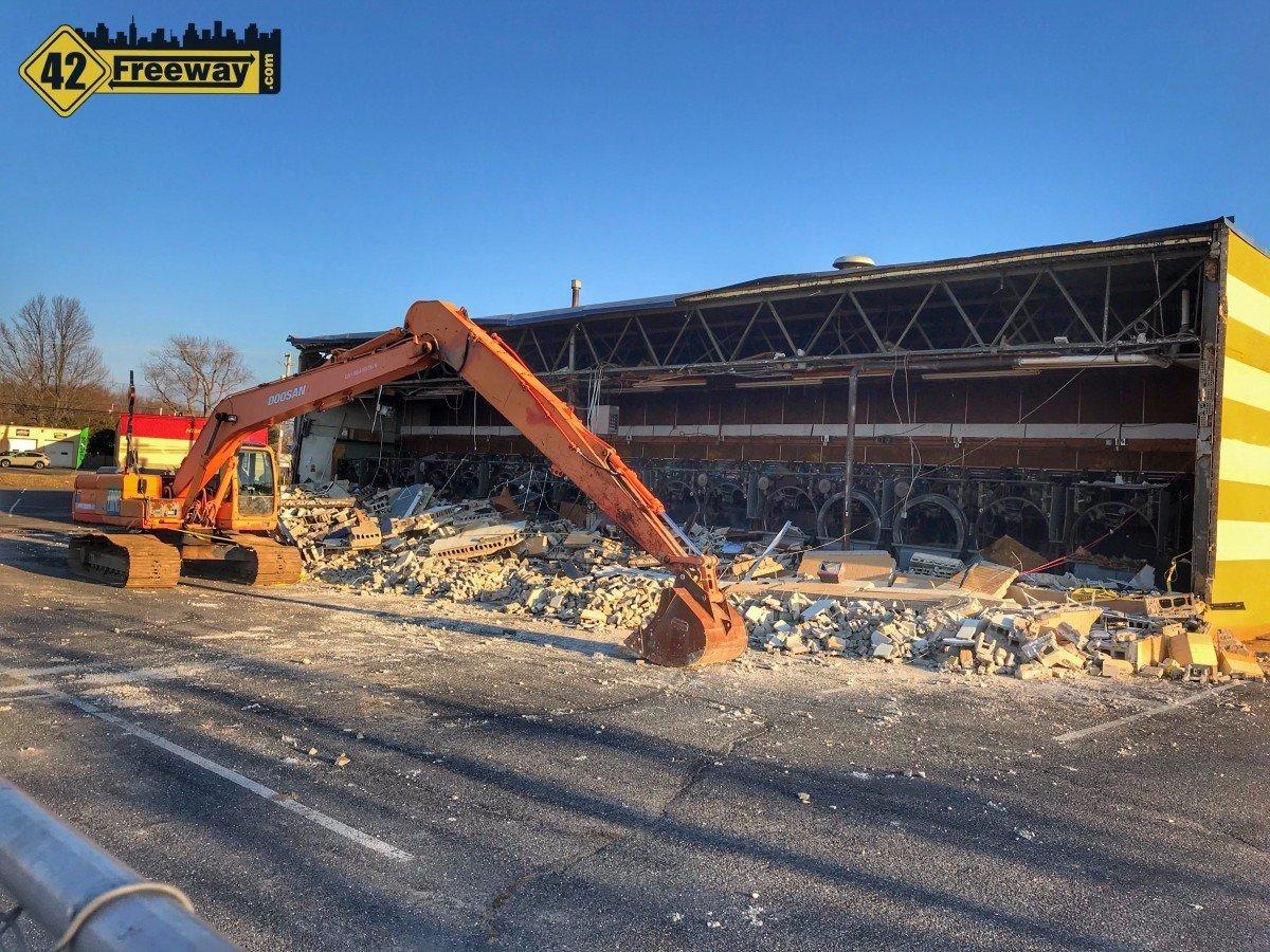 Glassboro Bowling Alley Demolition Starts; Matt Blatt Auto Dealership Expanding Into Property