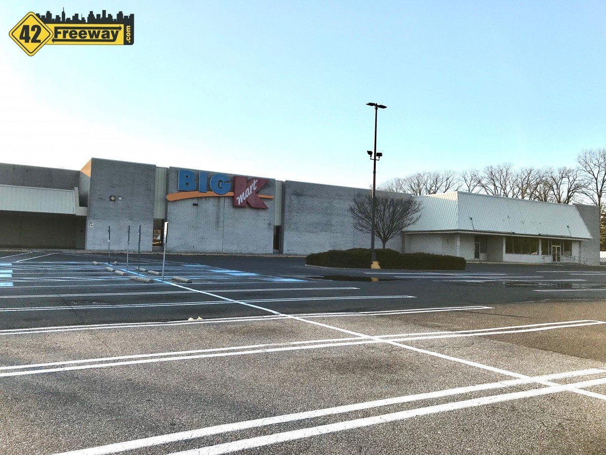 Glassboro's Kmart Redevelopment Starting.  Unknown Grocer Part of Three Larger Stores, also Chipotle and Chase Bank Planned