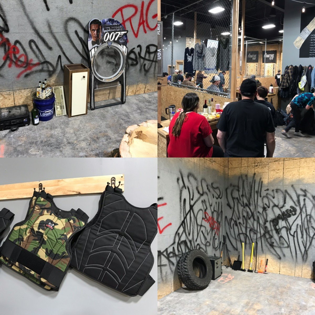 Primitive Rage Room Opens at Primitive Axe Glassboro.  You Get to SMASH THINGS!