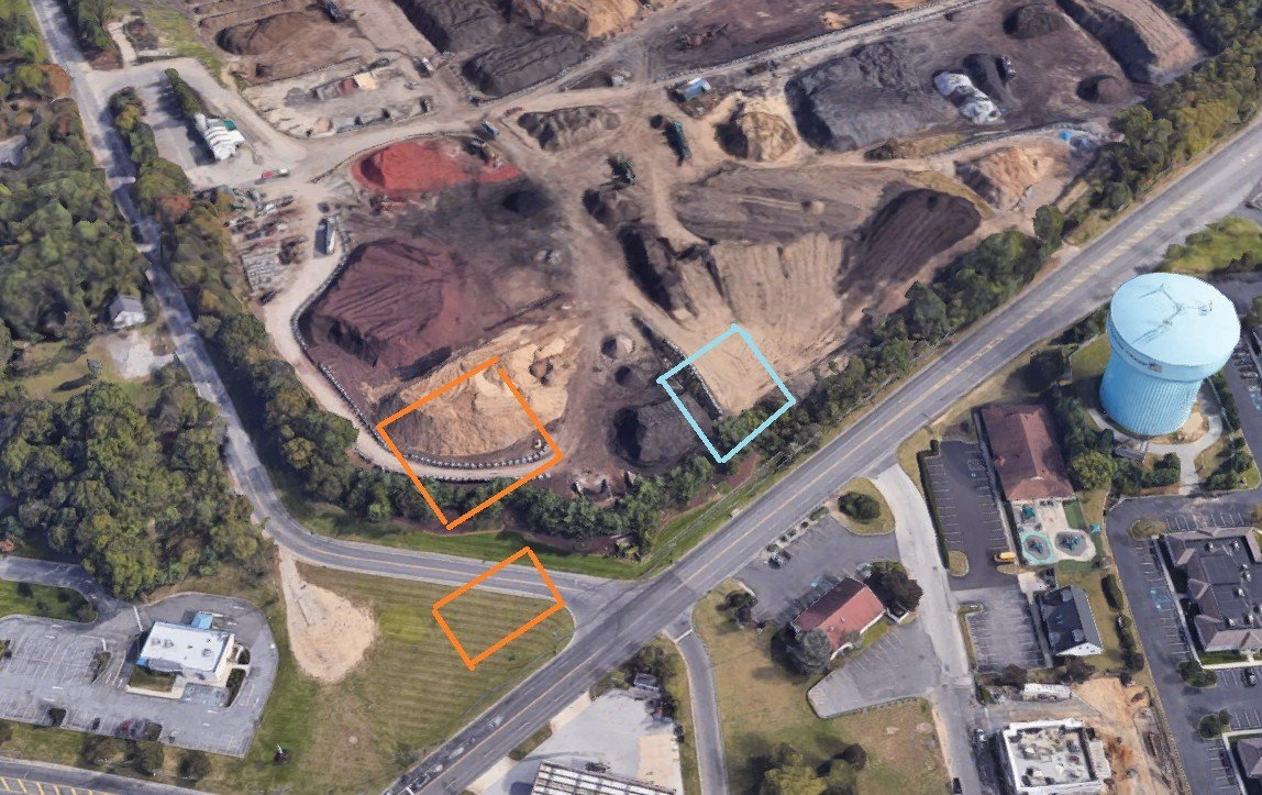Super Wawa at 5 Points Washington Township Approved in November.  Unnamed Fast Food Building Also