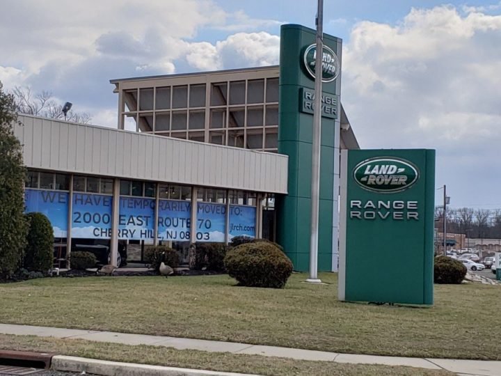 Does a new Landrover/Jaguar dealer in Cherry Hill spell the end of another at March 5 Zoning Board Hearing?