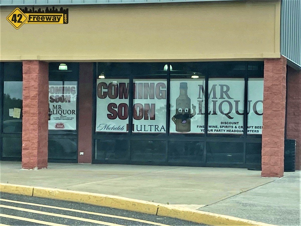 Mr Liquor Coming To Washington Township in the Walmart Shopping Center.  Early July Opening Targeted
