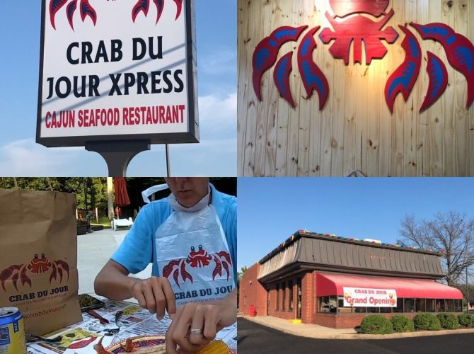 Crab Du Jour Has Opened In Turnersville!   42Freeway Experience Video!
