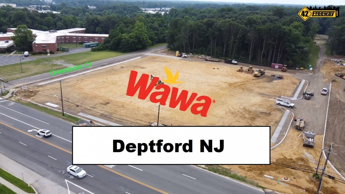 Deptford Super Wawa Update Video.  Property Layout, Traffic Flow, and Possible Future Rt 55 Connection!