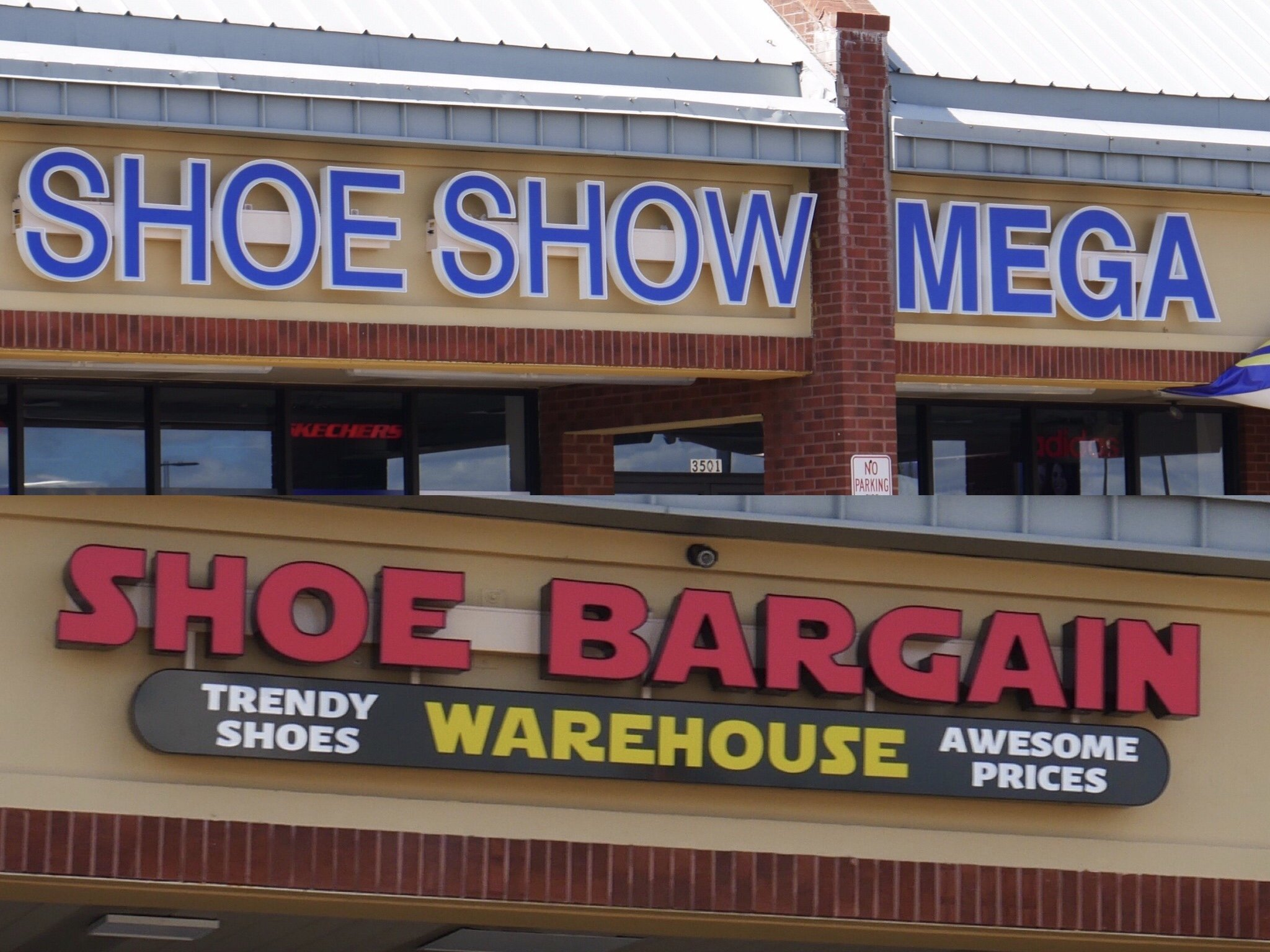 Shoe Show Mega opening at Turnersville's Walmart Cross Keys Commons Center.  And Don't Forget Shoe Bargain Warehouse!