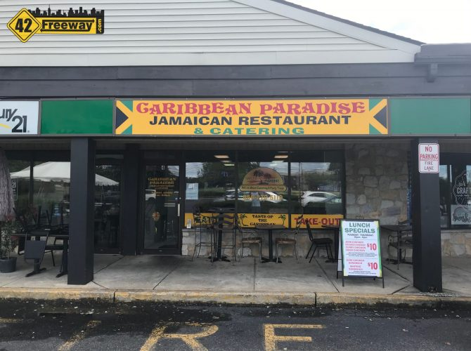 Caribbean Paradise Opened This Year Across From Washington Township High School.  Outside Dining Is Now Available