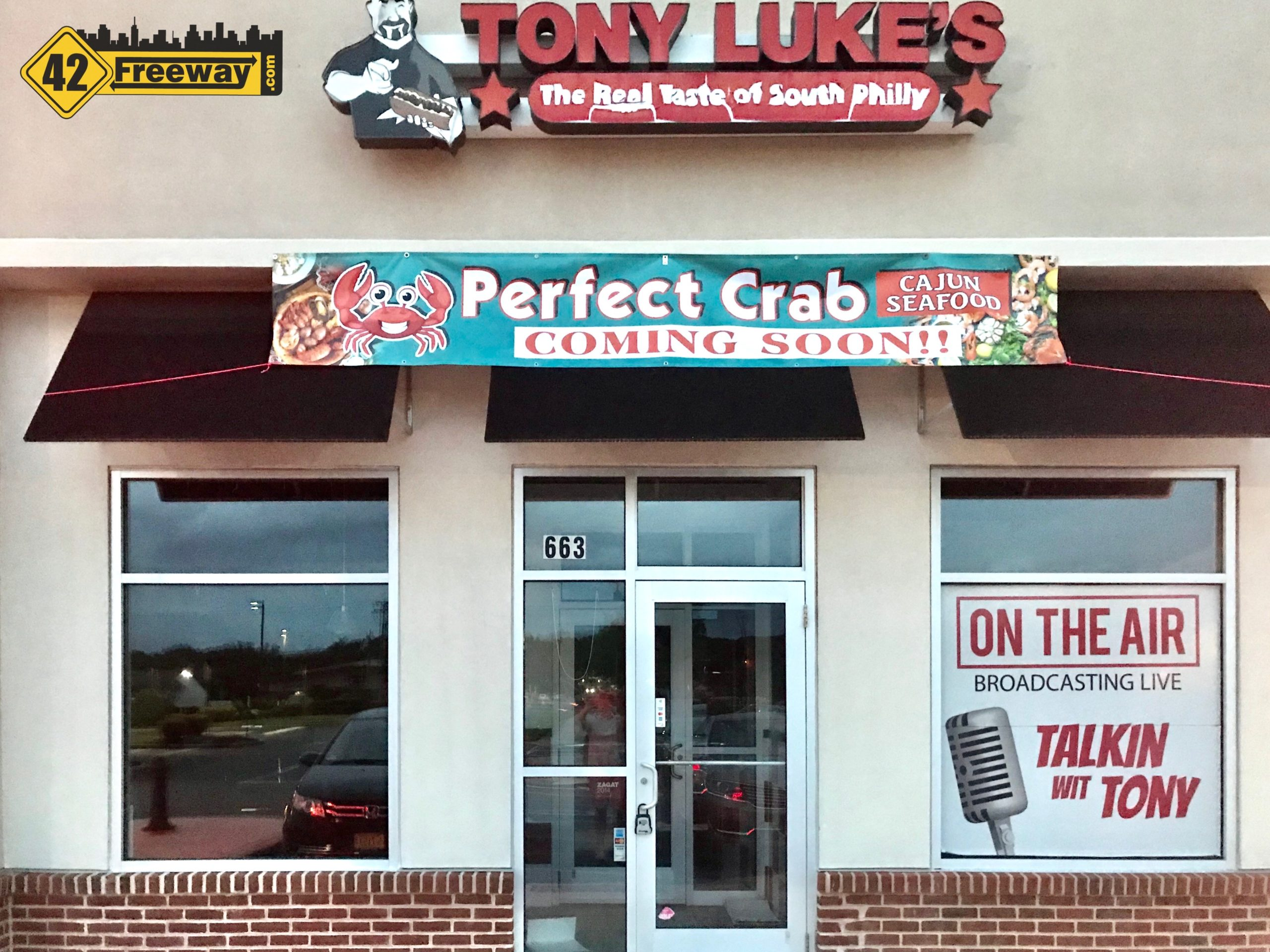 Perfect Crab Taking Over the Former Tony Luke's Cross Keys Rd Location.  Cajun Seafood Restaurant