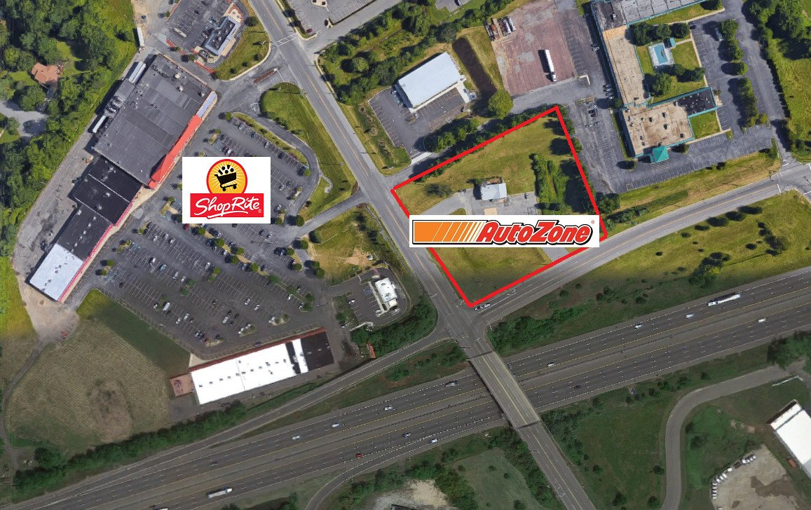 Autozone Approved for Greenwich Twp across from Gibbstown Shoprite.  Mr Bee's Property