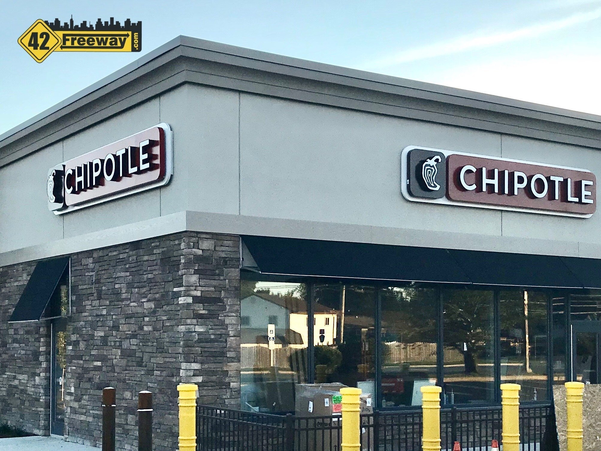 Chipotle Washington Twp is OPEN!  Located on Egg Harbor Road in Front of Acme.  Features Chipotlane pickup!