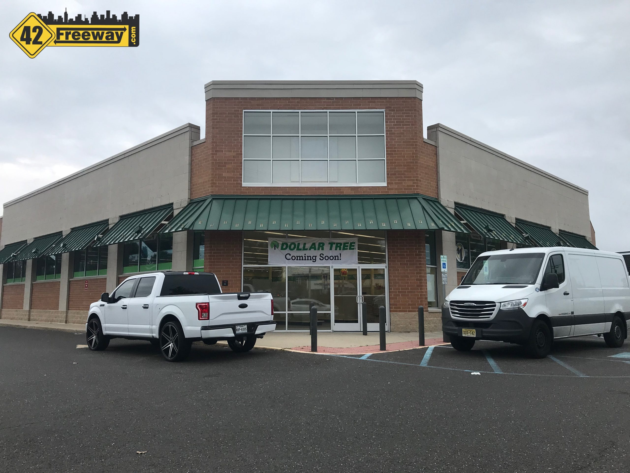 Dollar Tree Moving Into Former Walgreen's at Lindenwold's Patco Station.  Relocating From Somerdale WHP Location