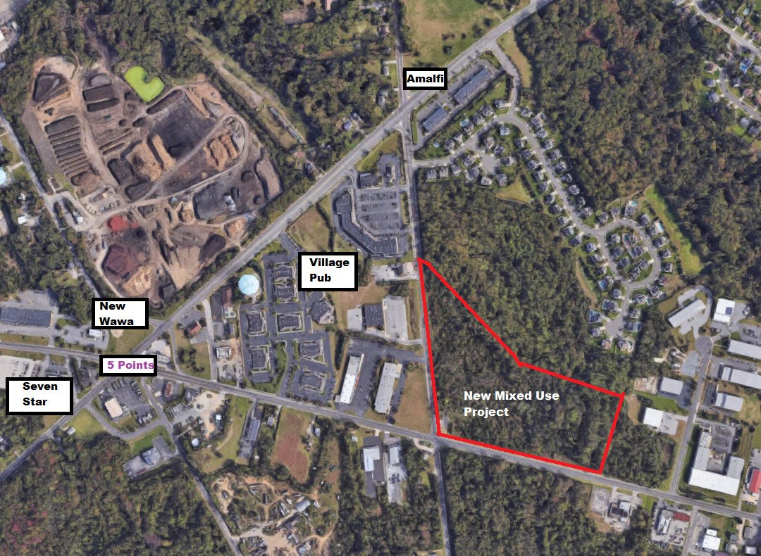 17 Acre Mixed-Use Project Proposed For Washington Twp 5-Points Area; Residential, Retail and Restaurant!  I Just Don't Know How it Comes Together!  Help!