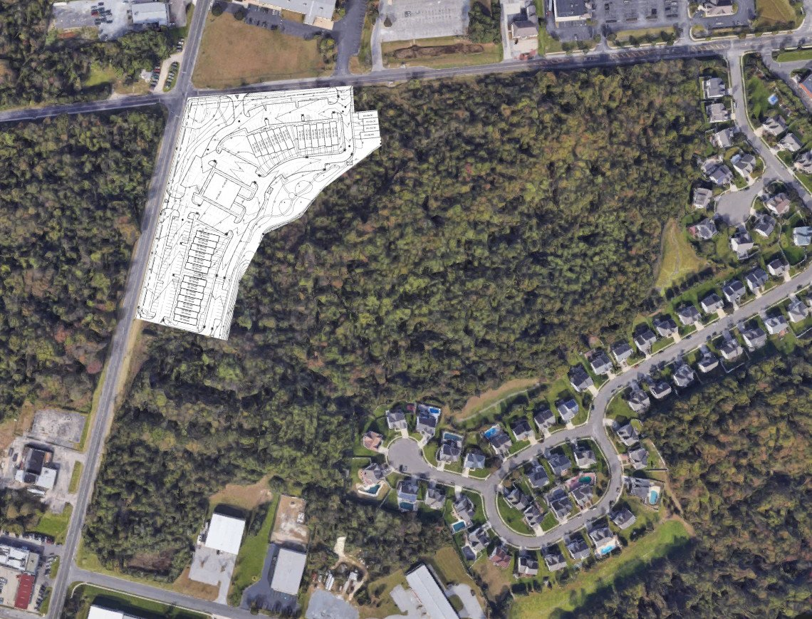 Belle Vista Mixed Use Project at Washington Twp Planning October 5, 2021. We Hear From Developer