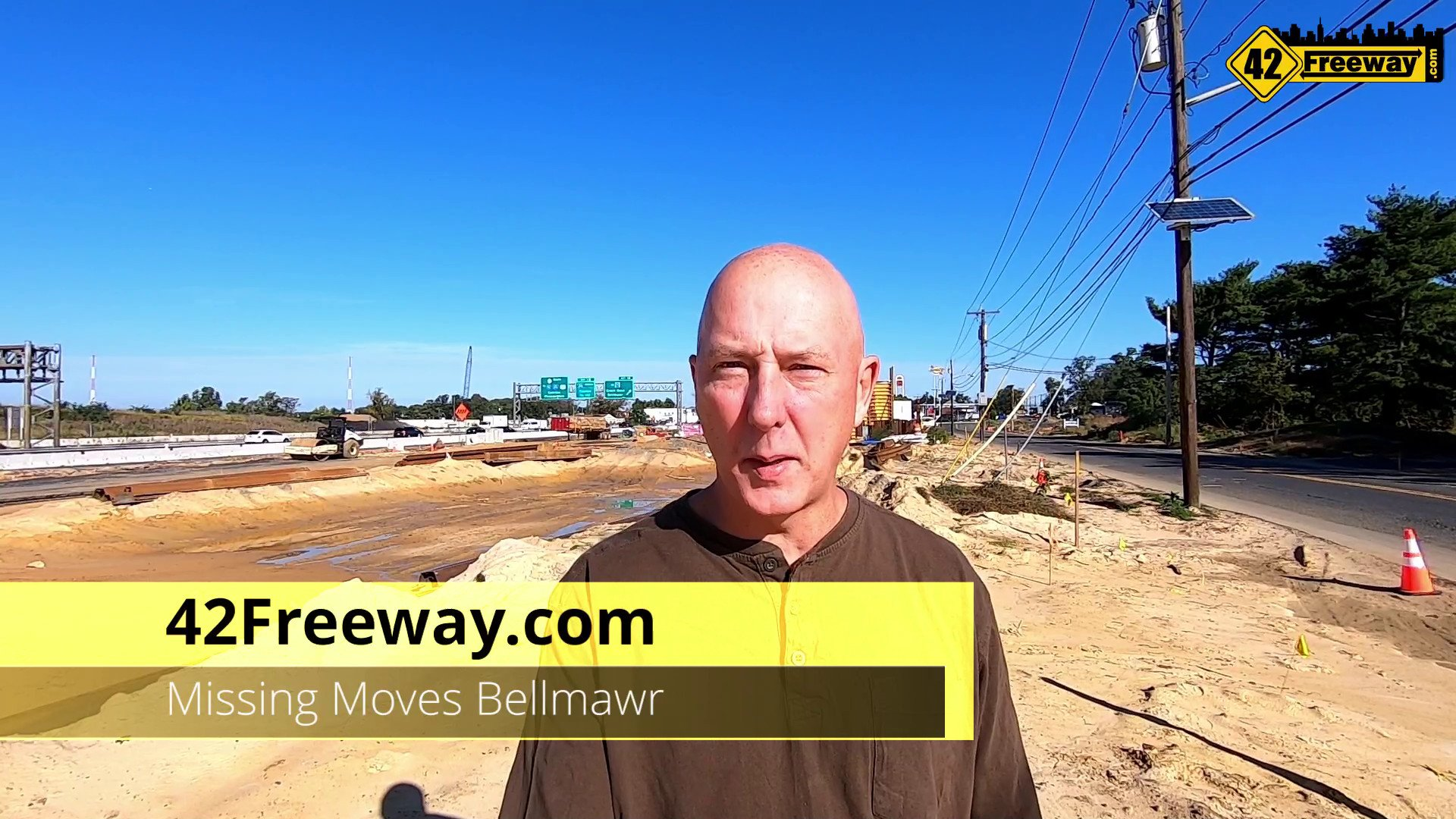 """What Is Going On Next to Rt 42 in Bellmawr?  Missing Moves!  First """"In Progress"""" Video Update (Oct 2020)"""