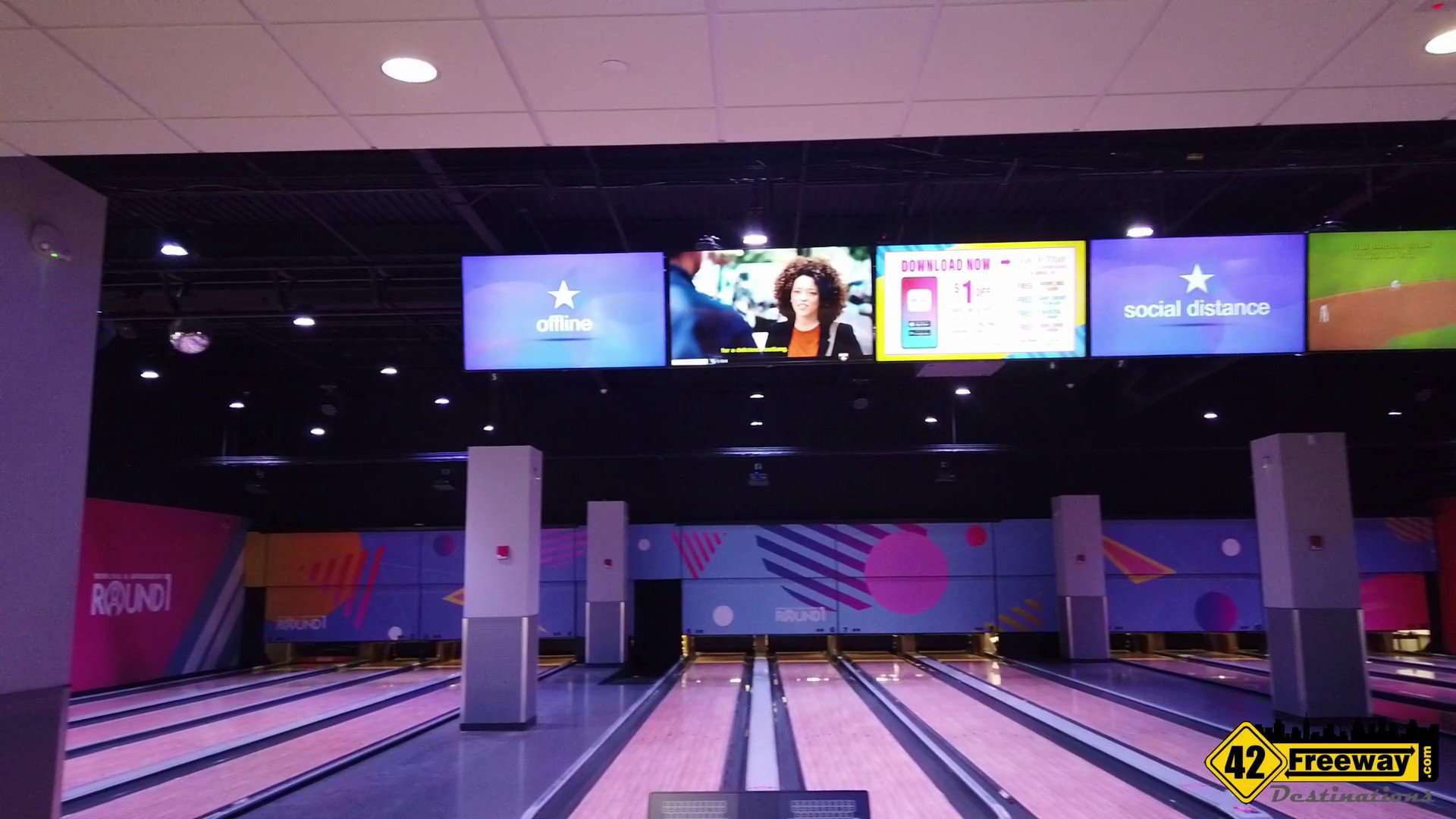 Round 1 Entertainment Center at the Deptford Mall is OPEN!   Video Walkthrough Tour!