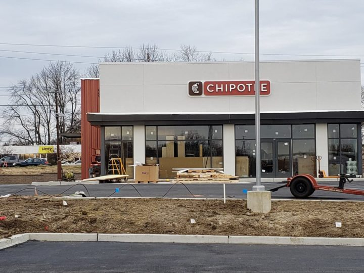 Chipotle at Brace Road and Route 70 in Cherry Hill Expected to Open in December!