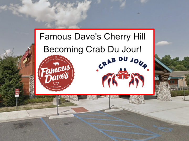 Famous Dave's Cherry Hill to Become Crab Du Jour, With Full Bar