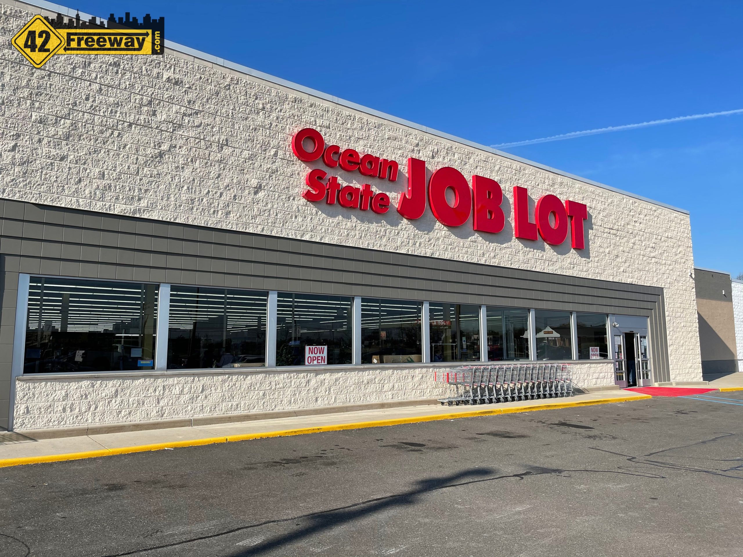Deptford's Ocean State Job Lot is OPEN!  Photos and Short Video