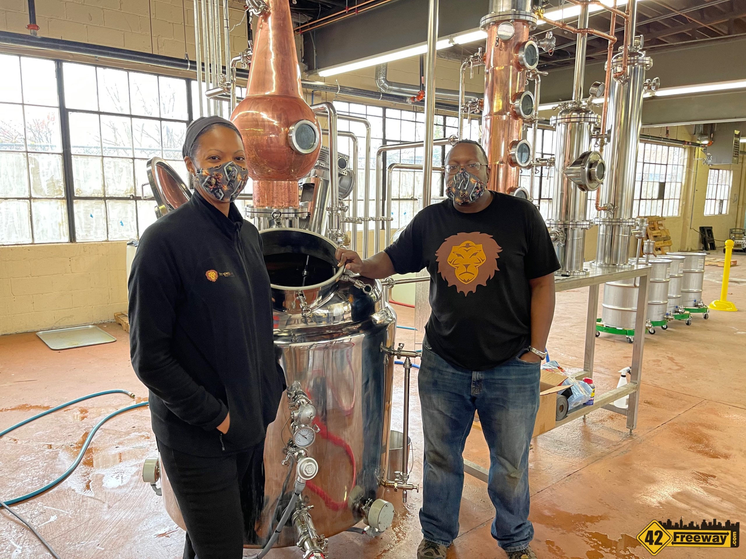 Striped Lion Distilling is Open in Woodbury!  Limited Hours, Check Post.  Photo Tour!