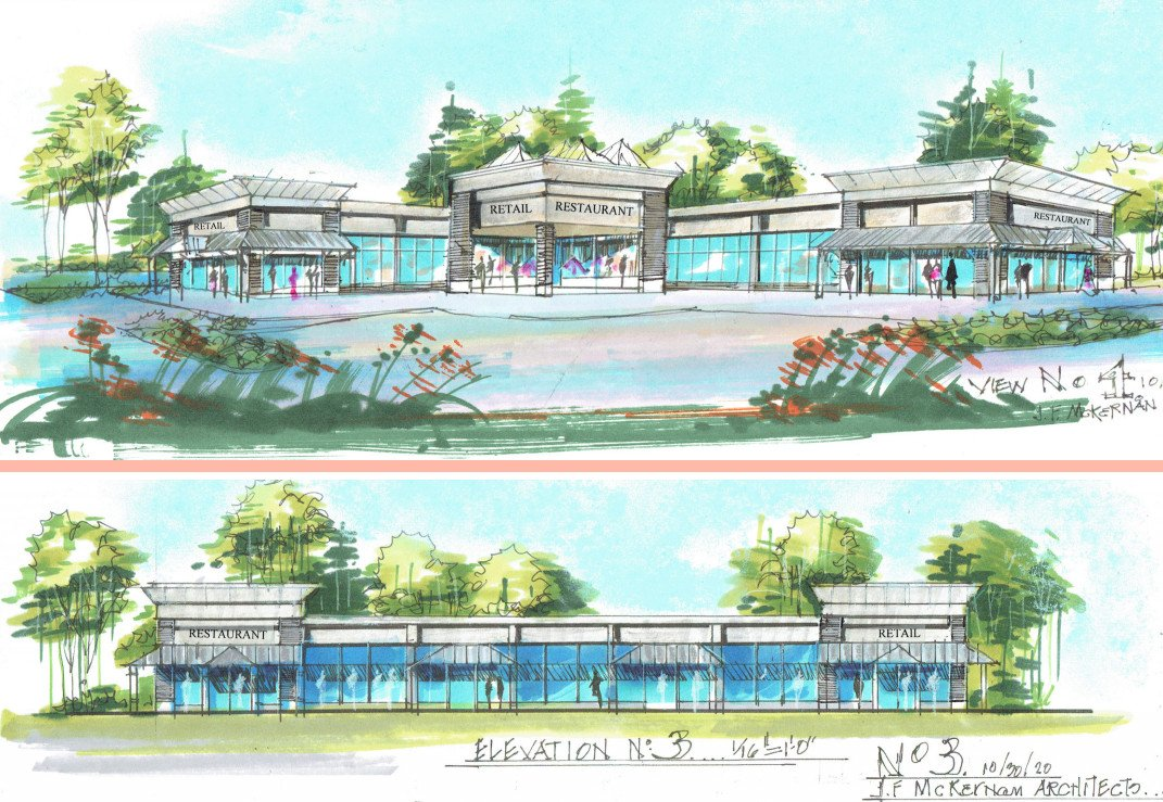 Mantua Mixed Use Retail and Medical Office Complex Planned for Woodbury-Glassboro Rd.  Dunkin Signed On