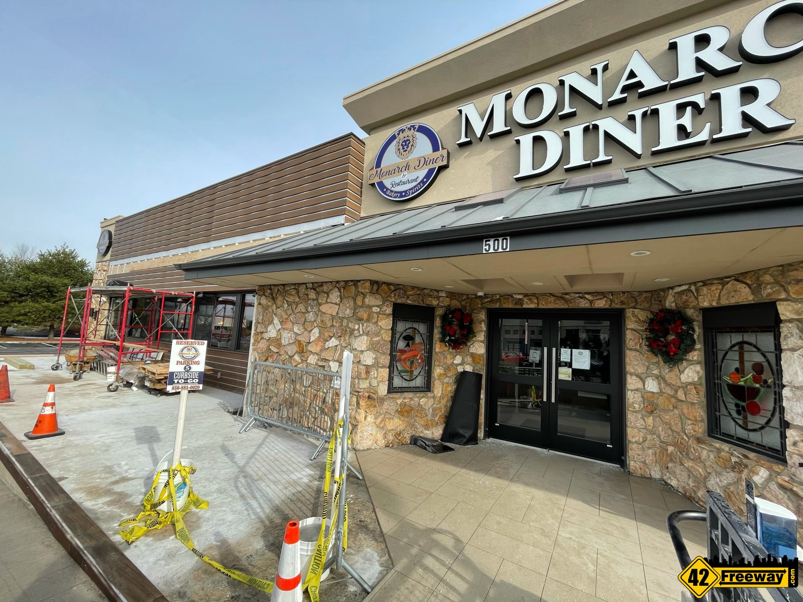 Monarch Diner Glassboro Upgrading Patio to 4 Season Room with Flexible Open Air Options