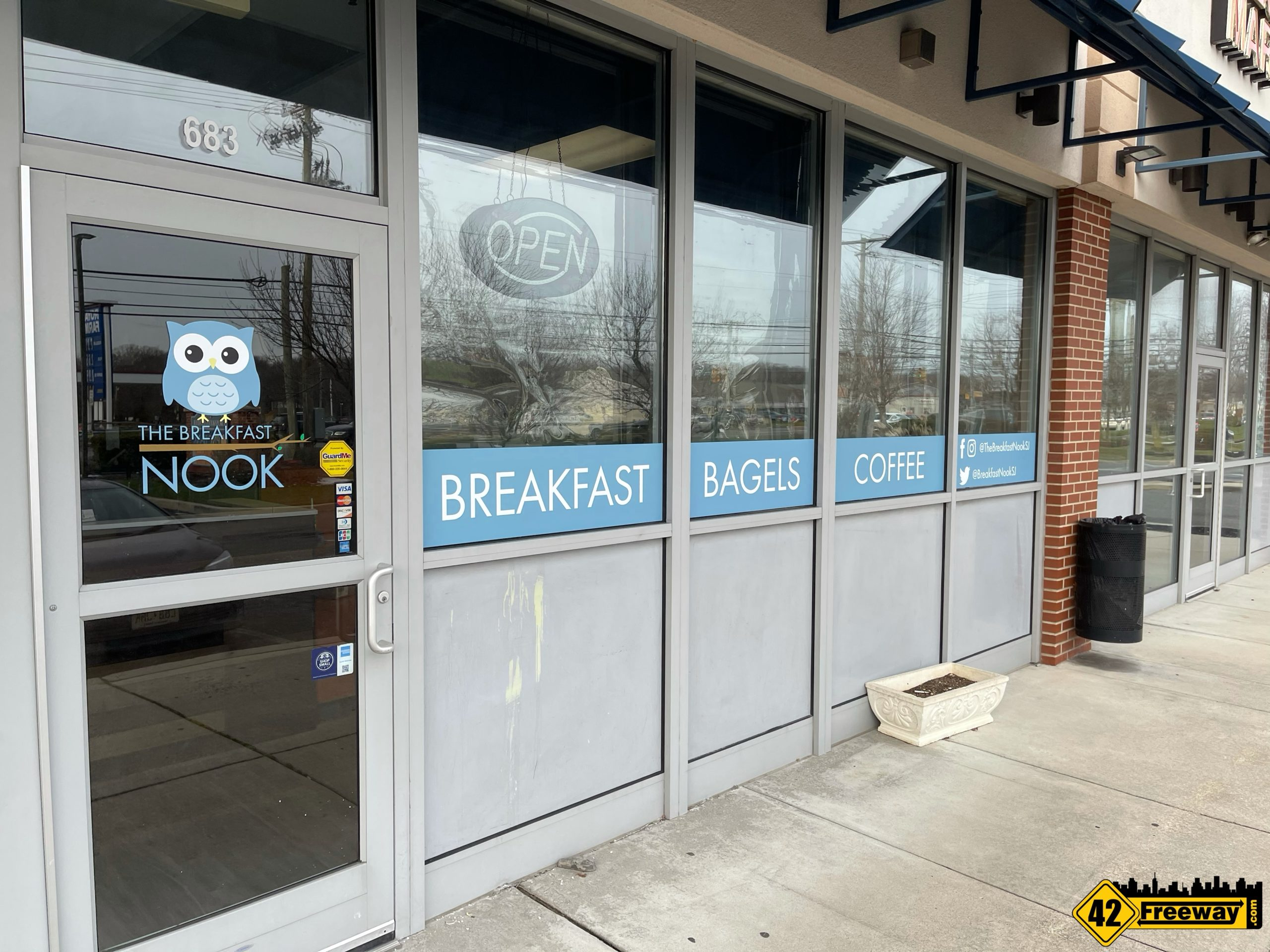 The Breakfast Nook on Cross Keys Rd Aims for Late February Opening