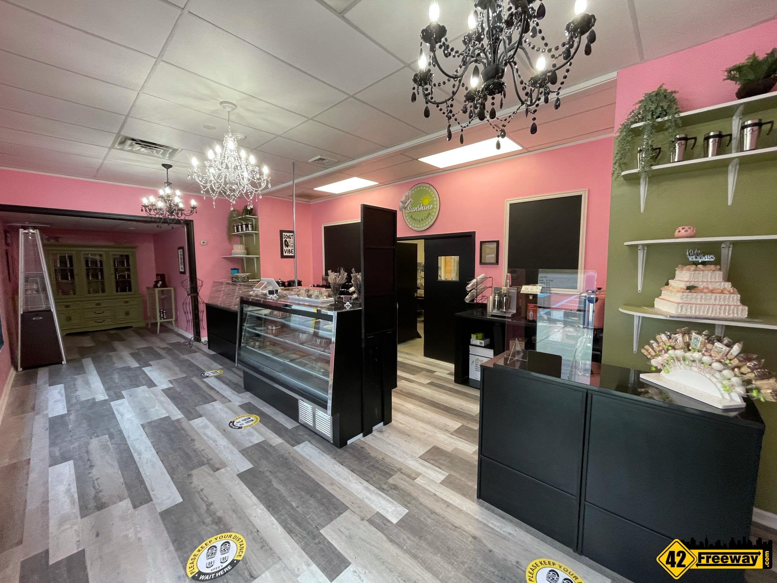 Sunshine Bakery & Cafe is OPEN in Washington Township!  Beautifully Redesigned!  Supports ARC Programs.  Read On For Hours