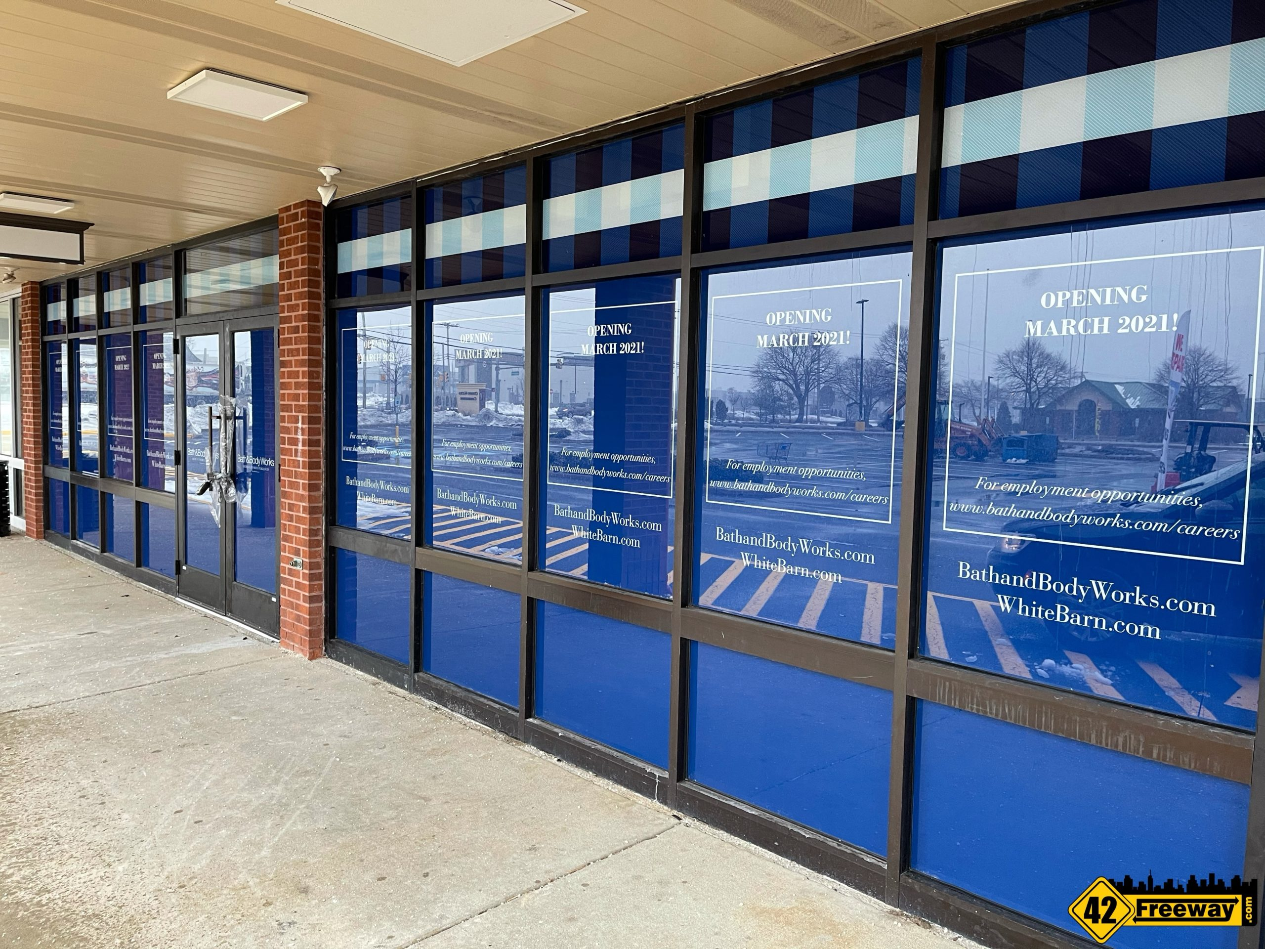 Bath & Body Works Washington Township Opens in MARCH!  Hiring Has Started!