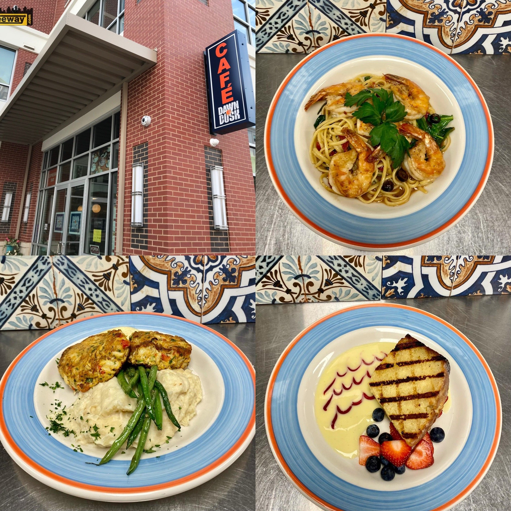 Dawn to Dusk Cafe is Now Open for Dinner Also!   Rowan Boulevard.  Reservations Recommended This Weekend