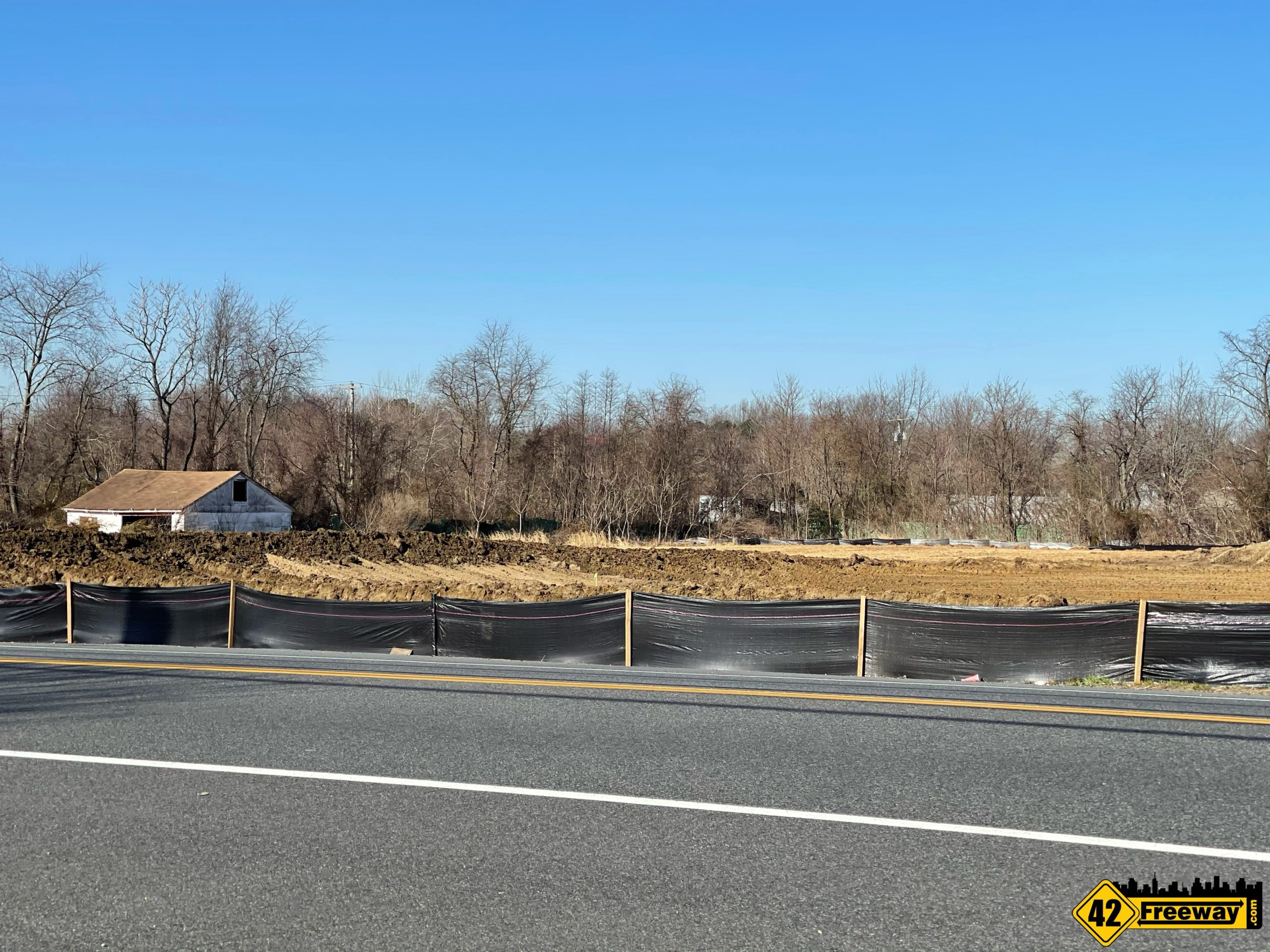 Dollar General Lot Cleared for New Washington Township Store on Delsea (5-Points)
