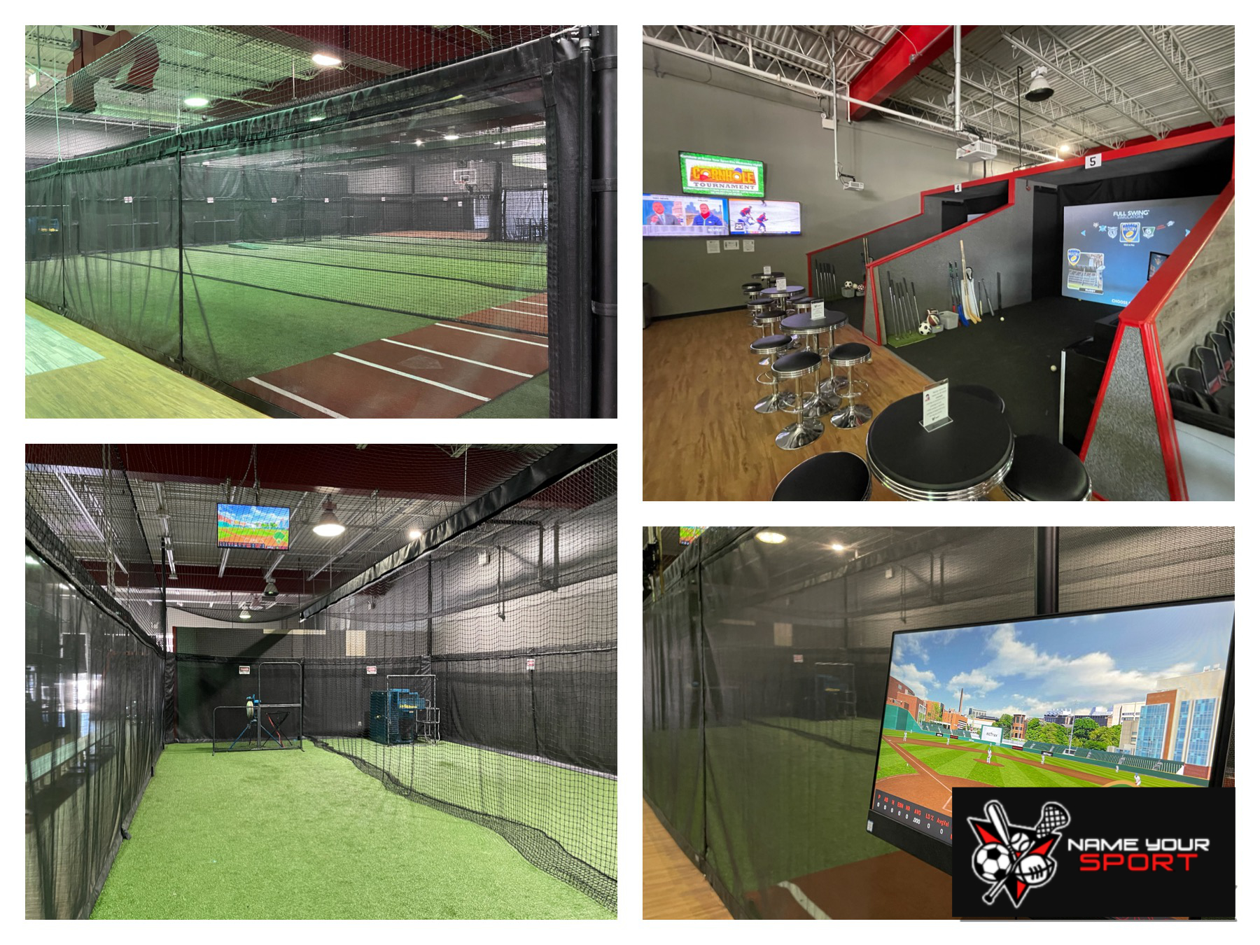 """""""Name Your Sport"""" Athletic Fun Facility in Runnemede NJ.   Destinations Photo Tour!"""