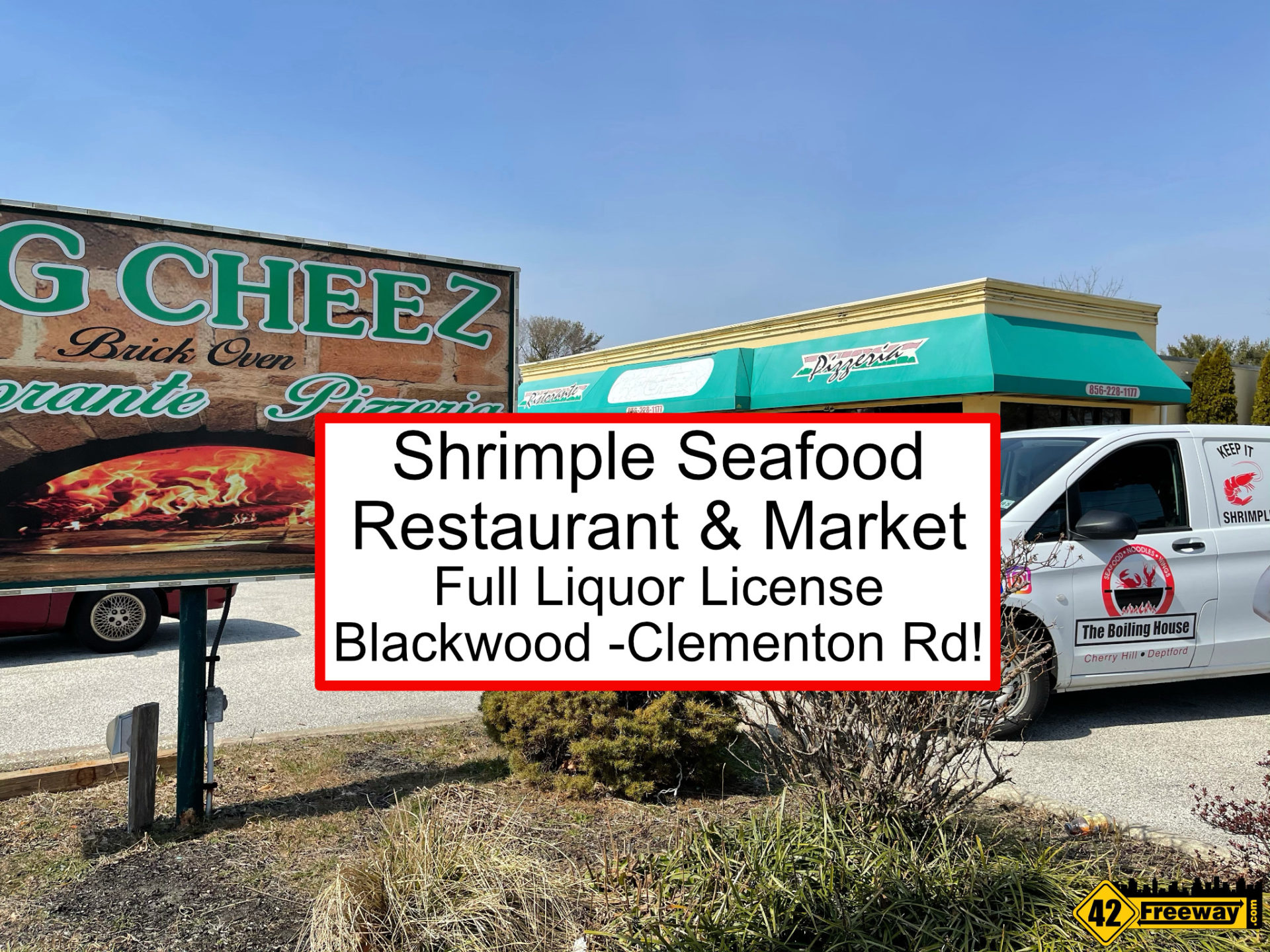 Shrimple Seafood Restaurant and Market Coming To Blackwood Clementon Rd!  Full Liquor License!