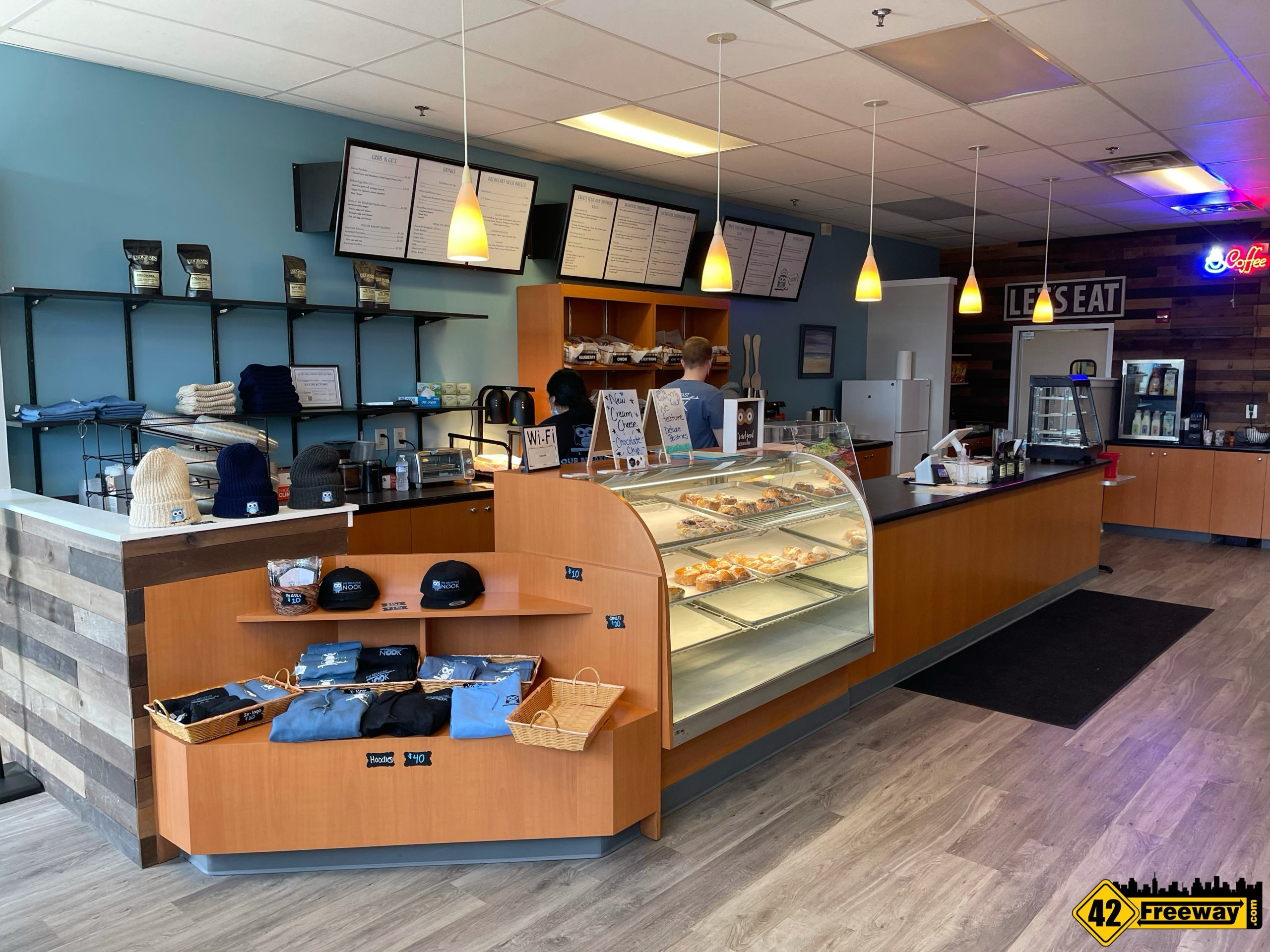 The Breakfast Nook Cross Keys Road is Open!  We Check Them Out!  Photos!