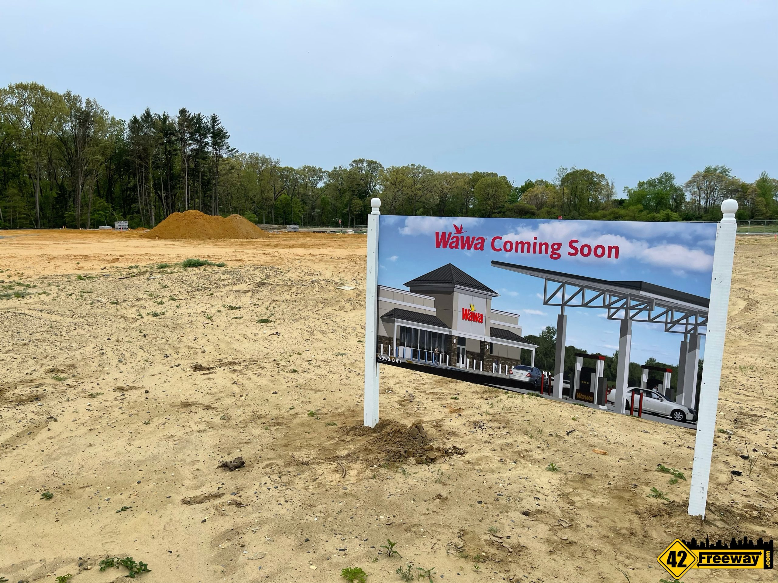 Super Wawas: Deptford Building Starts, Washington Township 5-Points Still Working On Approvals