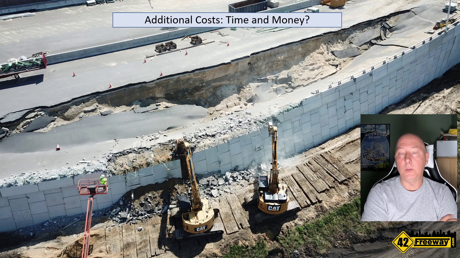 New Direct Connect Video Update.  NJDOT Project Update This Wednesday!  Register Online!  More Drone!