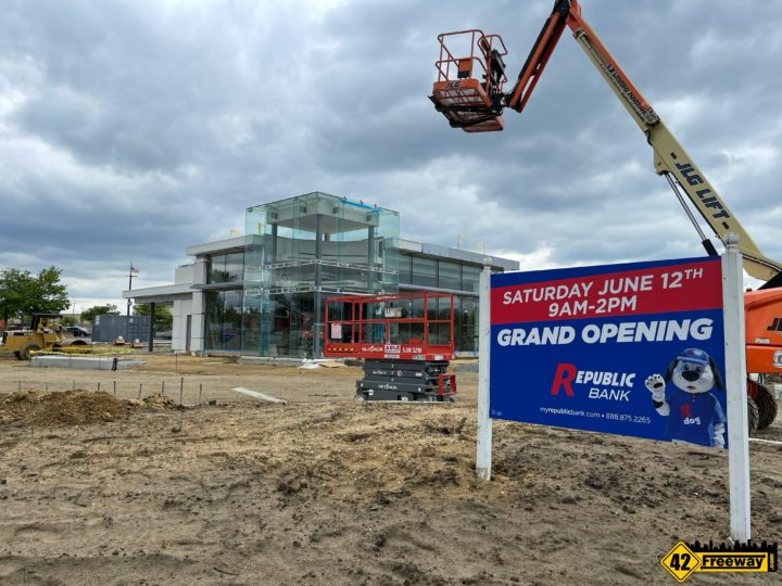 Deptford Republic Bank Opens June 12.  Krispy Kreme Backs Out