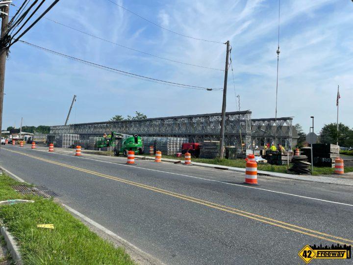 Bellmawr Browning Road Temporary Bridge Install Starts Next Week.  Just the Beginning