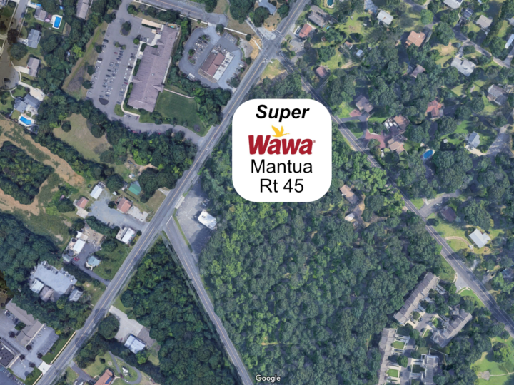 Mantua Super Wawa Proposed on Rt 45 and Mt Royal, Across From Existing Store.