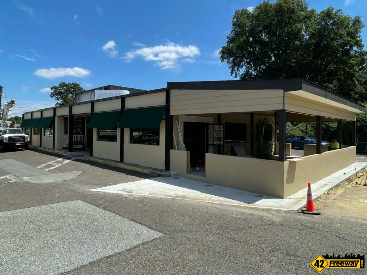 Runnemede's Irish Hill Tavern Open During Remodel.  New Patio and Updated Interior Ready Early September
