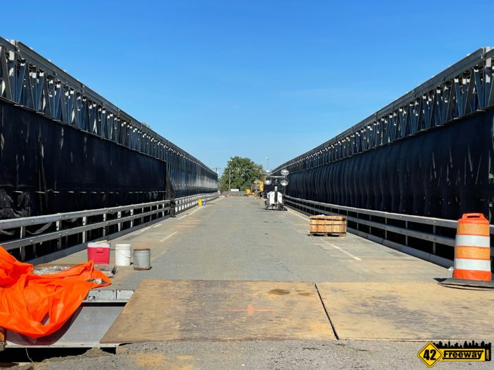 Browning Road Temporary Bridge: A Look at the Not-Yet-Open Structure